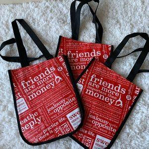 3 Reusable Lululemon bags